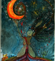 """Moon Woman"" Cyclical Divinity"